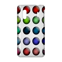 Button Icon About Colorful Shiny HTC Evo Design 4G/ Hero S Hardshell Case