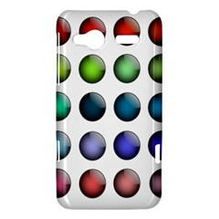 Button Icon About Colorful Shiny HTC Radar Hardshell Case