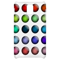 Button Icon About Colorful Shiny Samsung Infuse 4G Hardshell Case