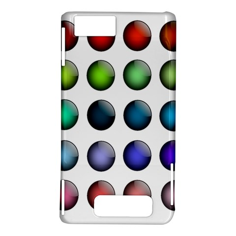 Button Icon About Colorful Shiny Motorola DROID X2