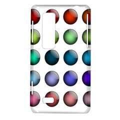 Button Icon About Colorful Shiny LG Optimus Thrill 4G P925