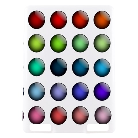 Button Icon About Colorful Shiny Kindle Touch 3G