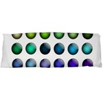 Button Icon About Colorful Shiny Body Pillow Case (Dakimakura) Body Pillow Case