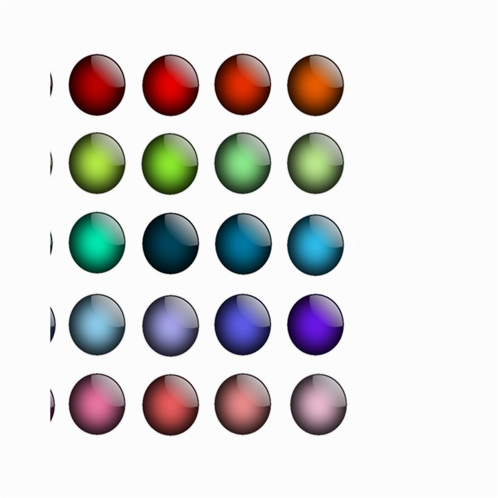 Button Icon About Colorful Shiny Small Garden Flag (Two Sides)