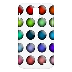 Button Icon About Colorful Shiny Samsung Galaxy S II Skyrocket Hardshell Case