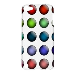 Button Icon About Colorful Shiny Apple iPod Touch 5 Hardshell Case