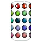 Button Icon About Colorful Shiny Samsung Galaxy S3 S III Classic Hardshell Back Case Front
