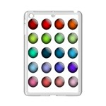 Button Icon About Colorful Shiny iPad Mini 2 Enamel Coated Cases Front