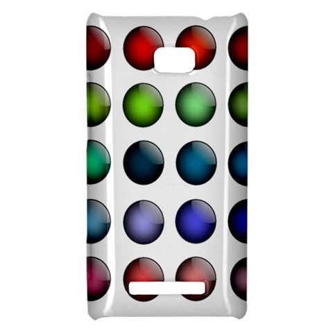 Button Icon About Colorful Shiny HTC 8X
