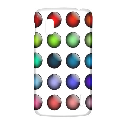 Button Icon About Colorful Shiny LG Nexus 4