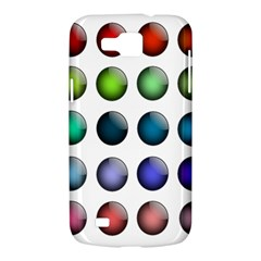 Button Icon About Colorful Shiny Samsung Galaxy Premier I9260 Hardshell Case