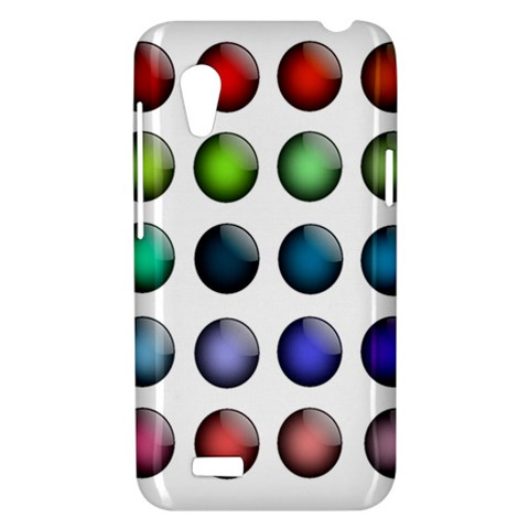 Button Icon About Colorful Shiny HTC Desire VT (T328T) Hardshell Case