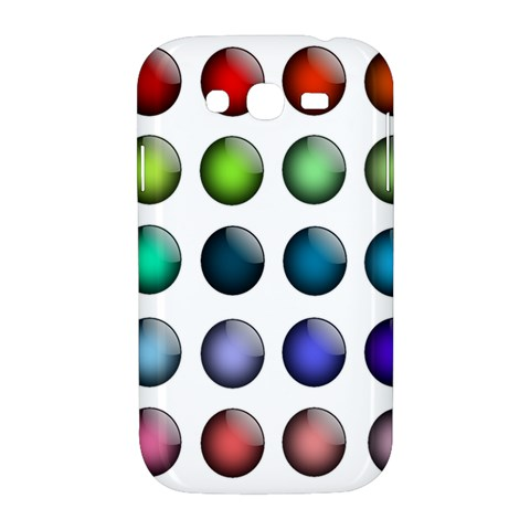 Button Icon About Colorful Shiny Samsung Galaxy Grand DUOS I9082 Hardshell Case