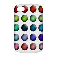 Button Icon About Colorful Shiny BlackBerry Q10