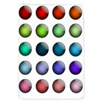 Button Icon About Colorful Shiny Flap Covers (S)  Front