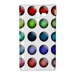 Button Icon About Colorful Shiny Sony Xperia ZL (L35H)