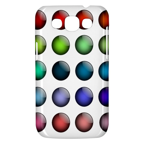 Button Icon About Colorful Shiny Samsung Galaxy Win I8550 Hardshell Case