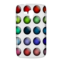 Button Icon About Colorful Shiny Samsung Galaxy Duos I8262 Hardshell Case