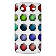 Button Icon About Colorful Shiny Samsung Galaxy Mega 5.8 I9152 Hardshell Case
