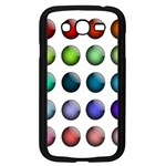 Button Icon About Colorful Shiny Samsung Galaxy Grand DUOS I9082 Case (Black) Front