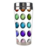 Button Icon About Colorful Shiny Stainless Steel Travel Tumblers Right