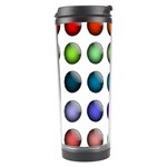 Button Icon About Colorful Shiny Travel Tumbler Center