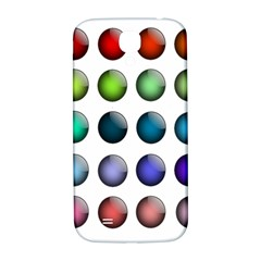 Button Icon About Colorful Shiny Samsung Galaxy S4 I9500/I9505  Hardshell Back Case