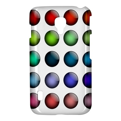 Button Icon About Colorful Shiny LG Optimus L7 II