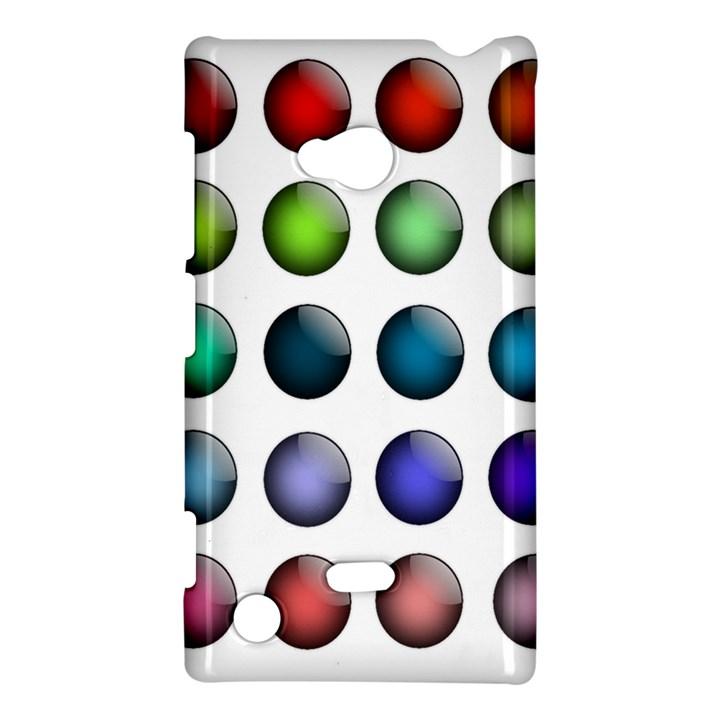 Button Icon About Colorful Shiny Nokia Lumia 720