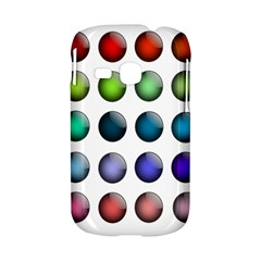 Button Icon About Colorful Shiny Samsung Galaxy S6310 Hardshell Case