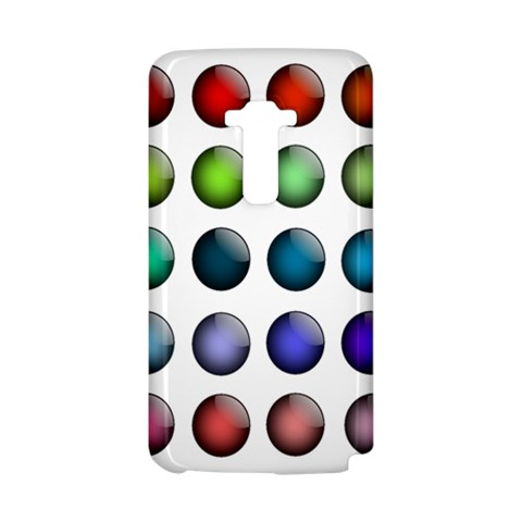 Button Icon About Colorful Shiny LG G Flex