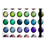 Button Icon About Colorful Shiny Samsung Galaxy Tab Pro 10.1  Flip Case Front