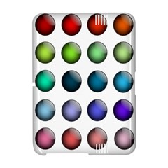 Button Icon About Colorful Shiny Amazon Kindle Fire (2012) Hardshell Case