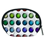 Button Icon About Colorful Shiny Accessory Pouches (Medium)  Back