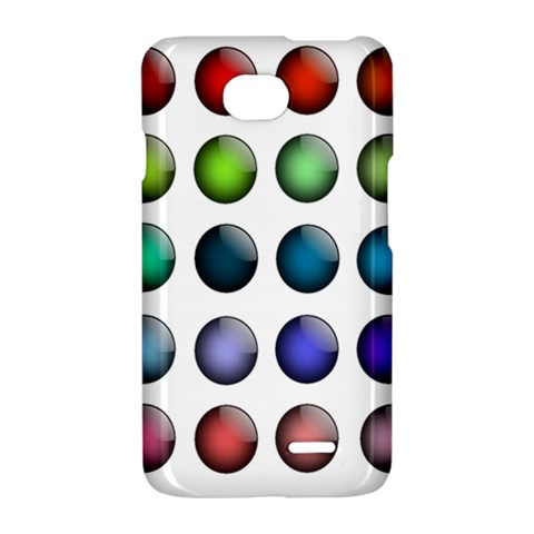 Button Icon About Colorful Shiny LG Optimus L70