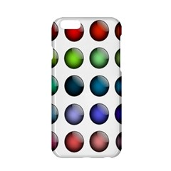Button Icon About Colorful Shiny Apple iPhone 6/6S Hardshell Case