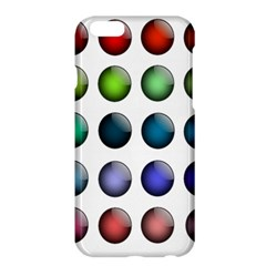 Button Icon About Colorful Shiny Apple iPhone 6 Plus/6S Plus Hardshell Case