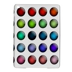 Button Icon About Colorful Shiny iPad Air 2 Hardshell Cases