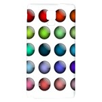 Button Icon About Colorful Shiny Galaxy Note 4 Back Case Front