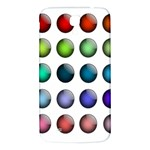 Button Icon About Colorful Shiny Samsung Galaxy Mega I9200 Hardshell Back Case Front
