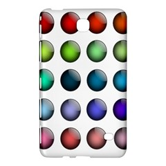 Button Icon About Colorful Shiny Samsung Galaxy Tab 4 (7 ) Hardshell Case
