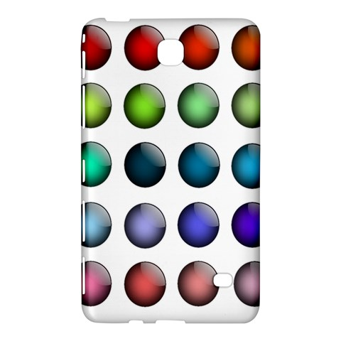 Button Icon About Colorful Shiny Samsung Galaxy Tab 4 (8 ) Hardshell Case