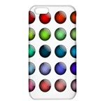 Button Icon About Colorful Shiny iPhone 6/6S TPU Case Front