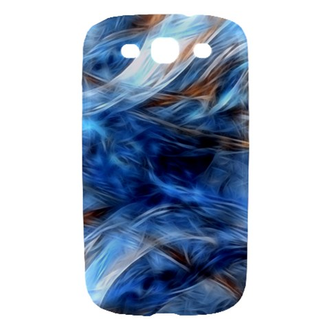 Blue Colorful Abstract Design  Samsung Galaxy S III Hardshell Case