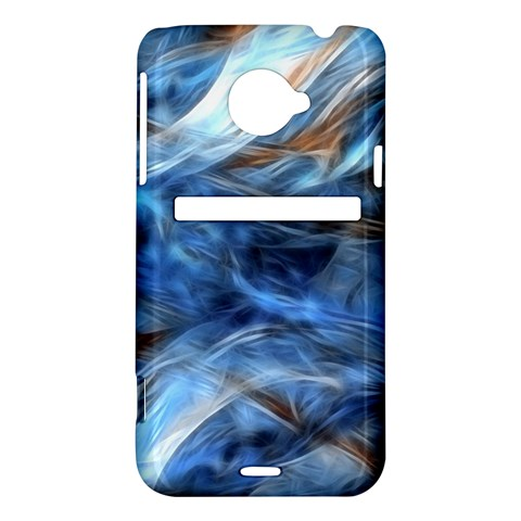 Blue Colorful Abstract Design  HTC Evo 4G LTE Hardshell Case