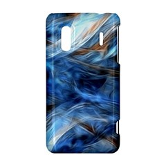 Blue Colorful Abstract Design  HTC Evo Design 4G/ Hero S Hardshell Case