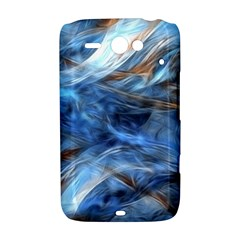Blue Colorful Abstract Design  HTC ChaCha / HTC Status Hardshell Case