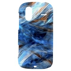 Blue Colorful Abstract Design  HTC Amaze 4G Hardshell Case