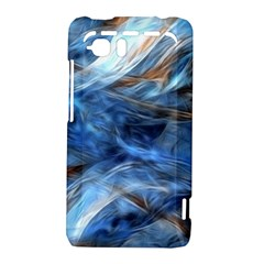 Blue Colorful Abstract Design  HTC Vivid / Raider 4G Hardshell Case
