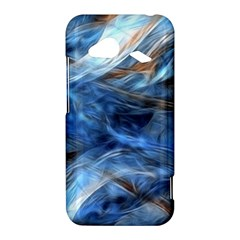 Blue Colorful Abstract Design  HTC Droid Incredible 4G LTE Hardshell Case